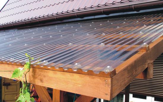 Картинки по запросу прозрачные листы на крышу