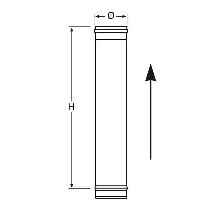 Длина труб для дымохода хомут настенный для дымоходов